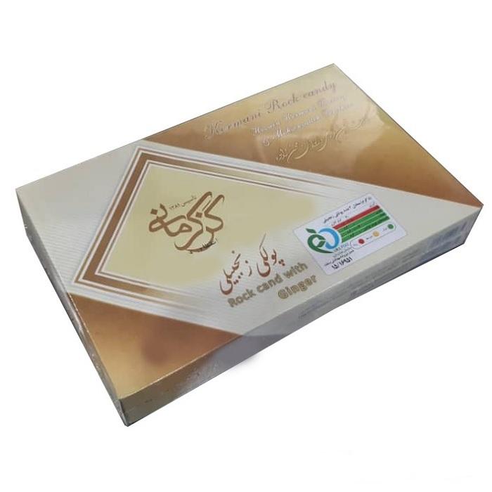 پولکی زنجبیلی گز کرمانی - 450 گرم