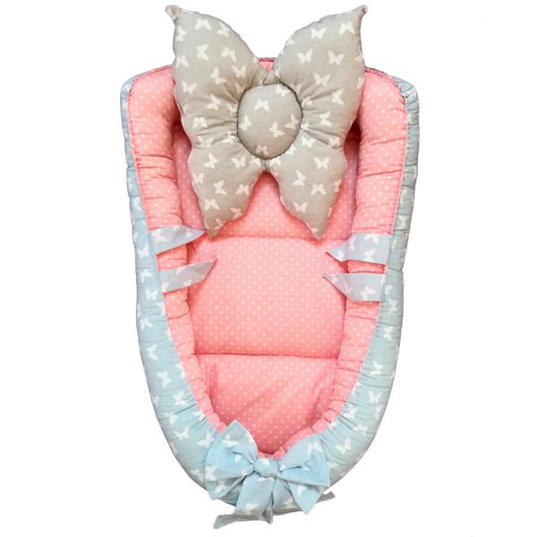 سرویس 3 تکه خواب نوزادی تاپ دوزانی مدل پروس