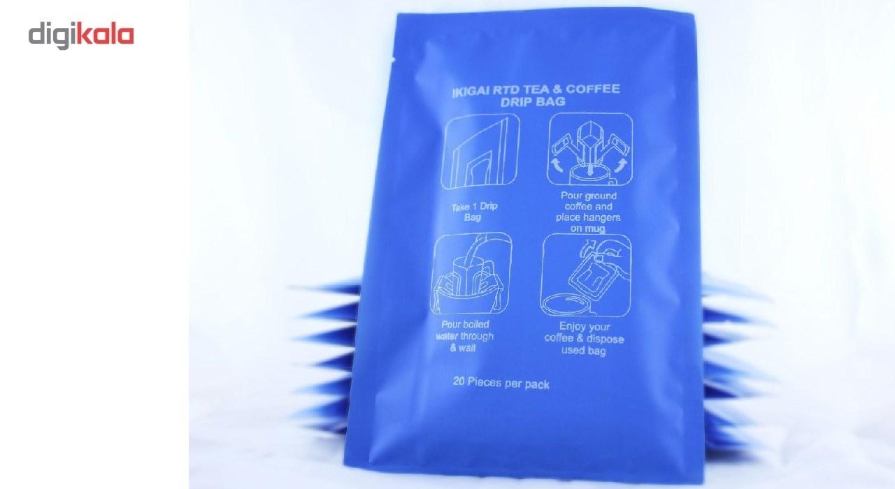 تی بگ چای و قهوه و دمنوش یک بار مصرف بسته 20 عددی