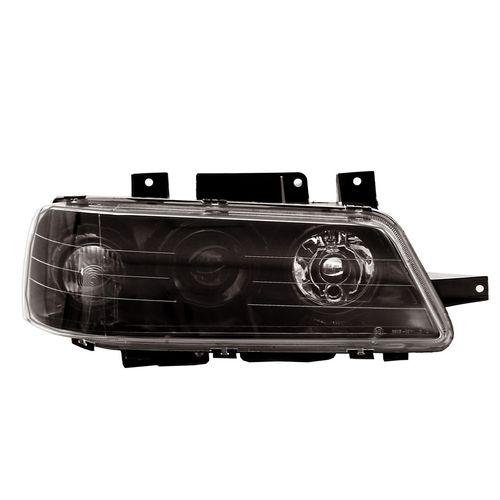 چراغ جلو راست دودی خودرو اس ان تی مدل SNTSLXHBR مناسب برای پژو 405 SLX
