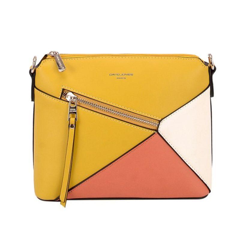 کیف رو دوشی زنانه دیوید جونز مدل 6294-1 -  - 2