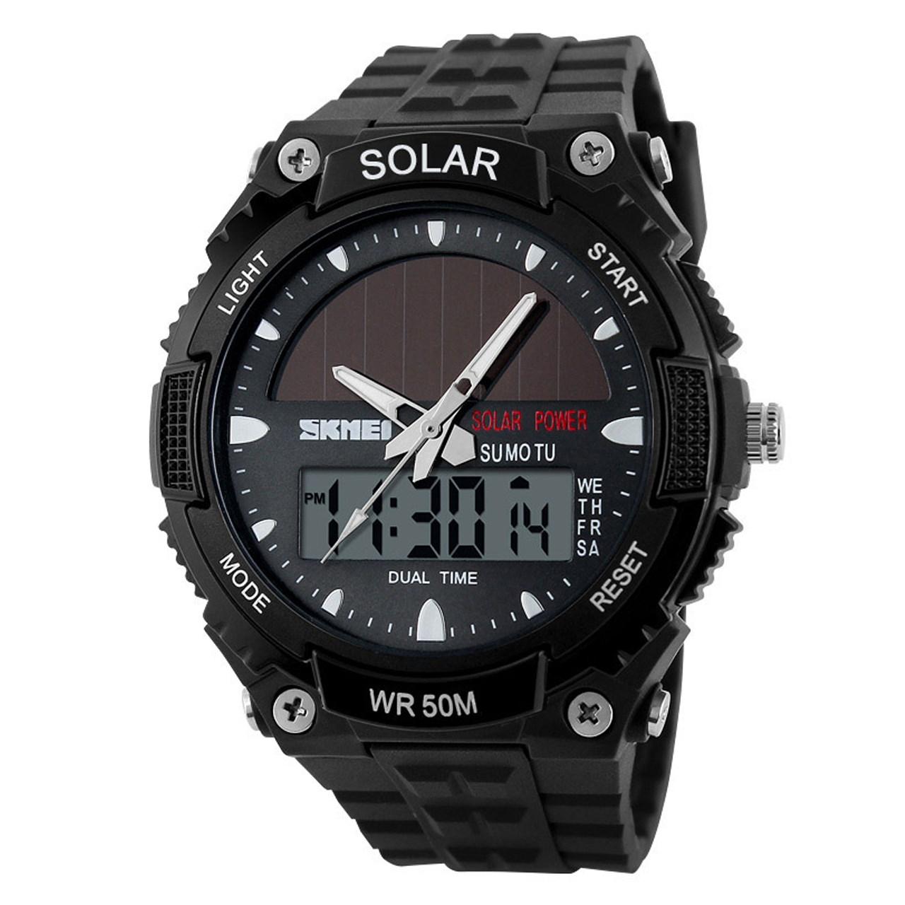 ساعت مچی عقربه ای مردانه اسکمی مدل AD1049E/Black 1