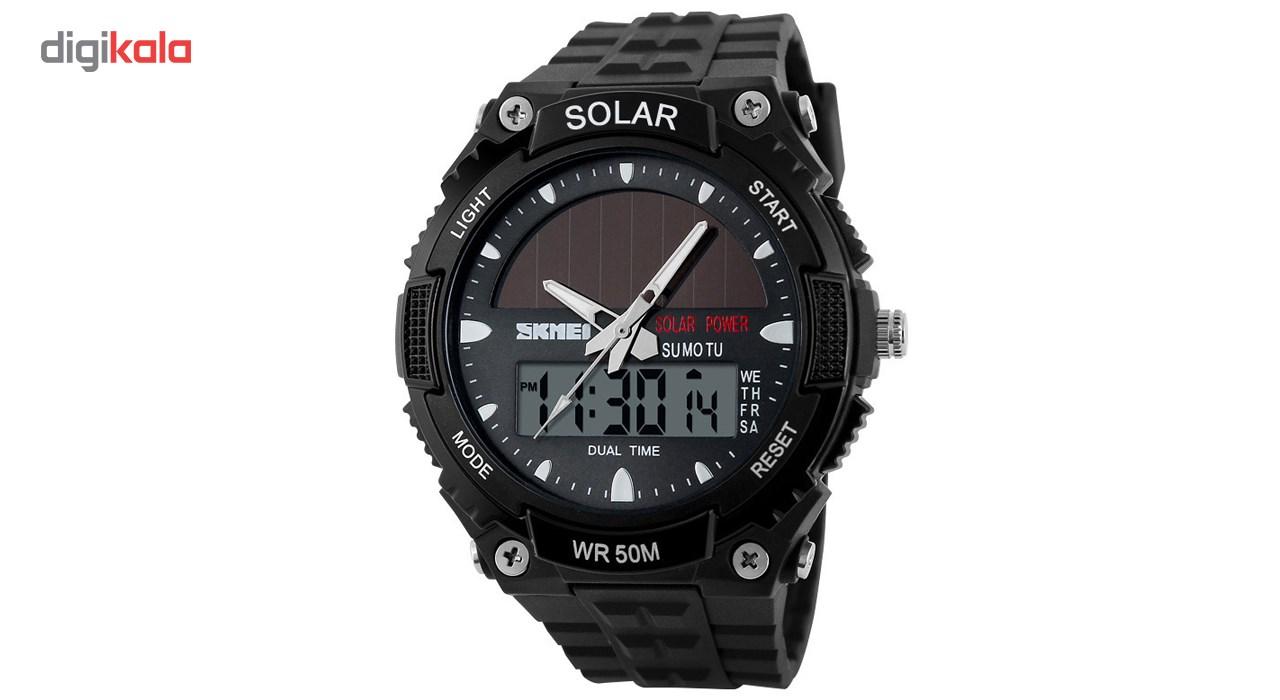 ساعت مچی عقربه ای مردانه اسکمی مدل AD1049E/Black