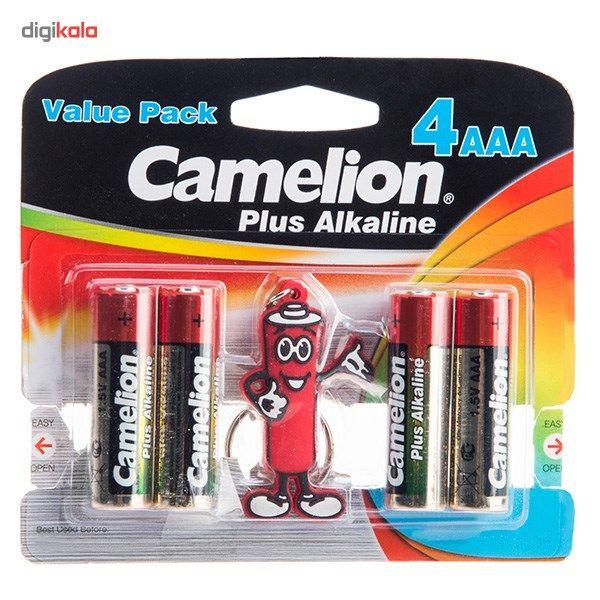 باتری نیم قلمی و جاکلیدی کملیون مدل Plus Alkaline 4AAA main 1 1