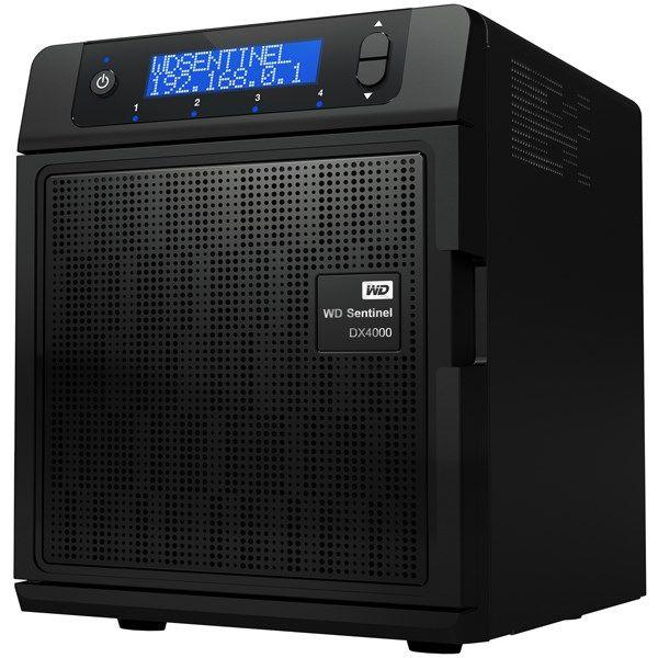 ذخیره ساز تحت شبکه وسترن دیجیتال مدل سنتینل DX4000 ظرفیت 8 ترابایت