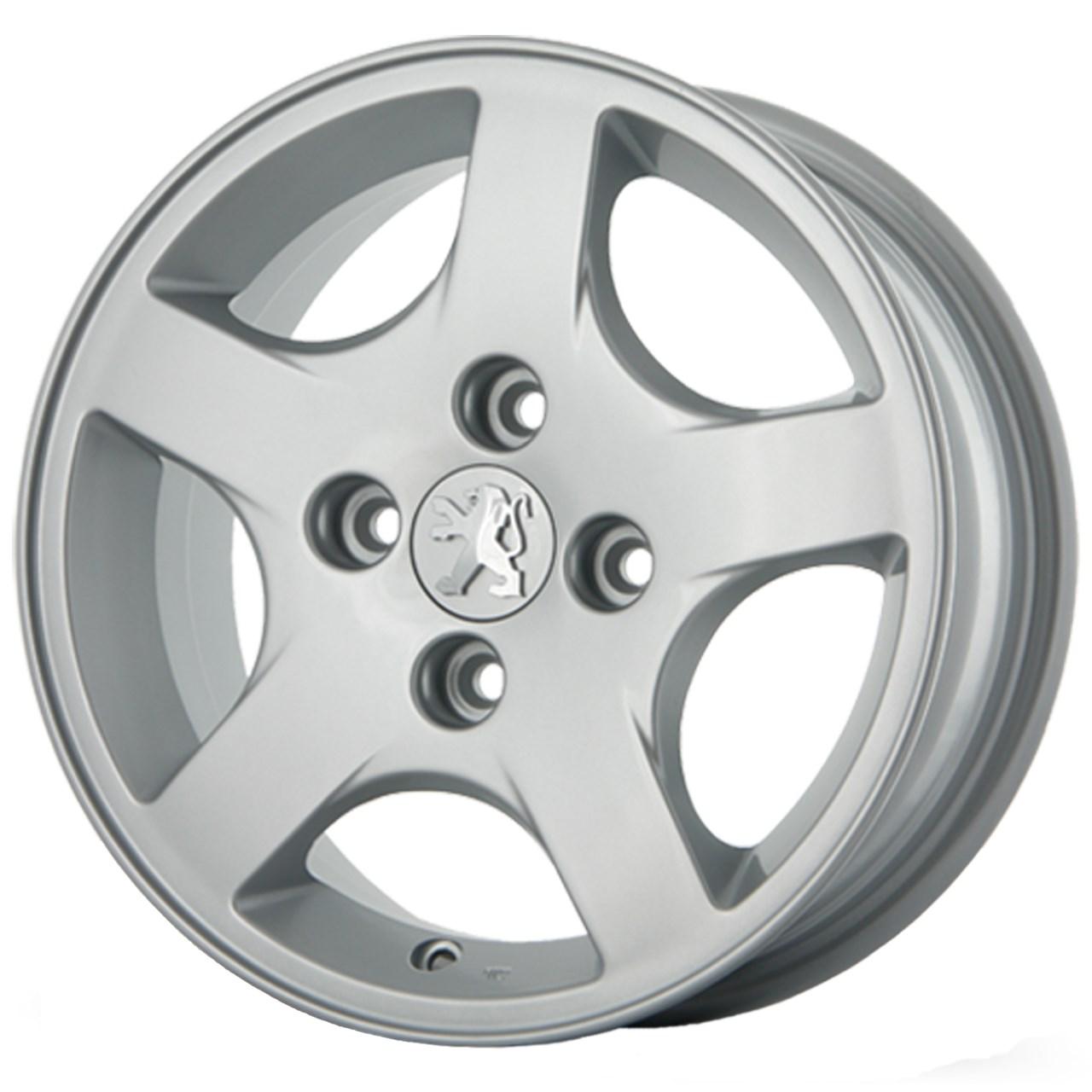 رینگ آلومینیومی چرخ مدل KW018A مناسب برای خودروی پژو 207 و 206