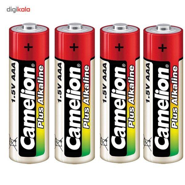 باتری نیم قلمی و جاکلیدی کملیون مدل Plus Alkaline 4AAA main 1 4