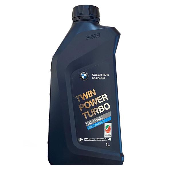 روغن موتور خودرو بی ام دبلیو مدل Twin Power Turbo 5W30 Longlife-04 2019-20 حجم 1 لیتر