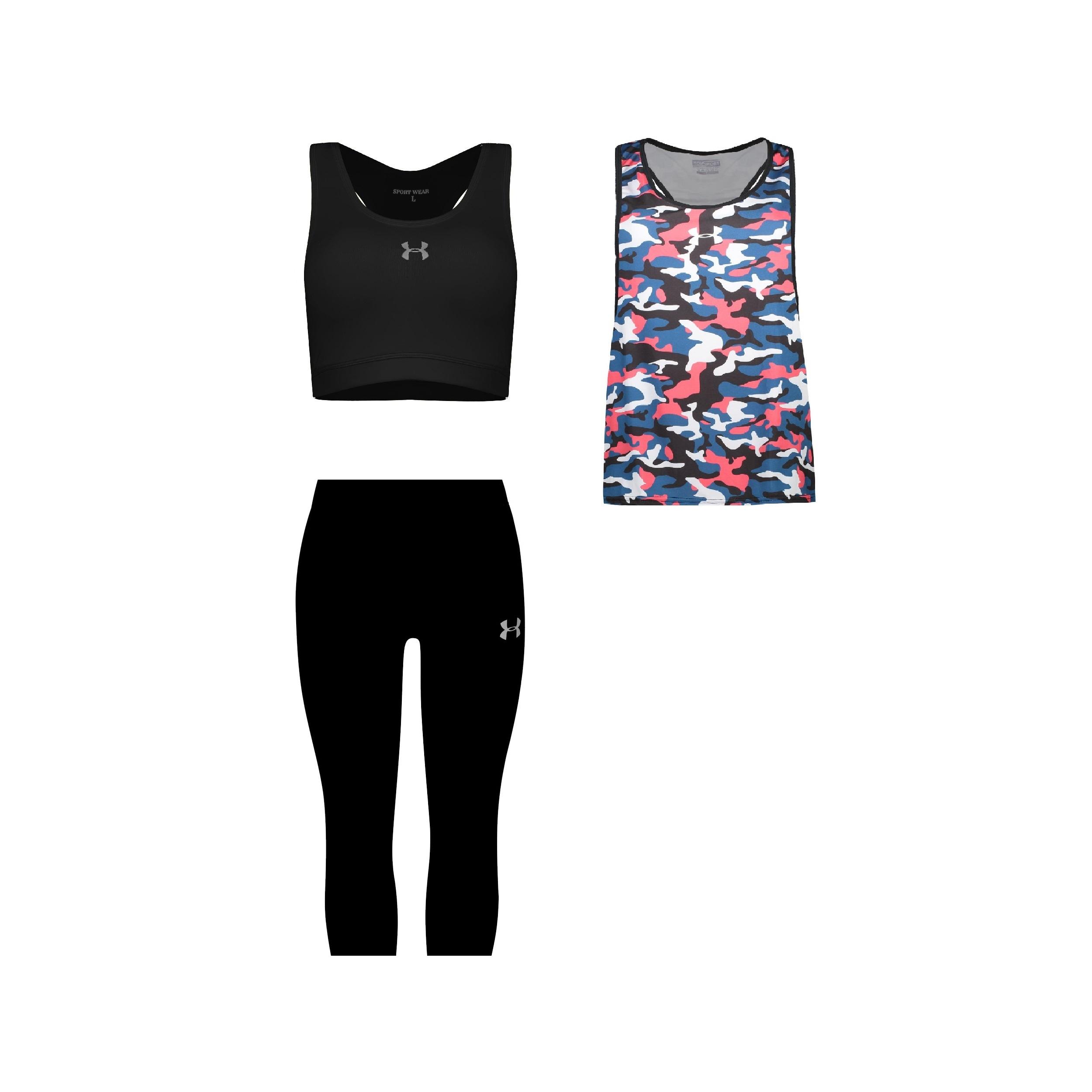 ست 3 تکه لباس ورزشی زنانه کد 580102