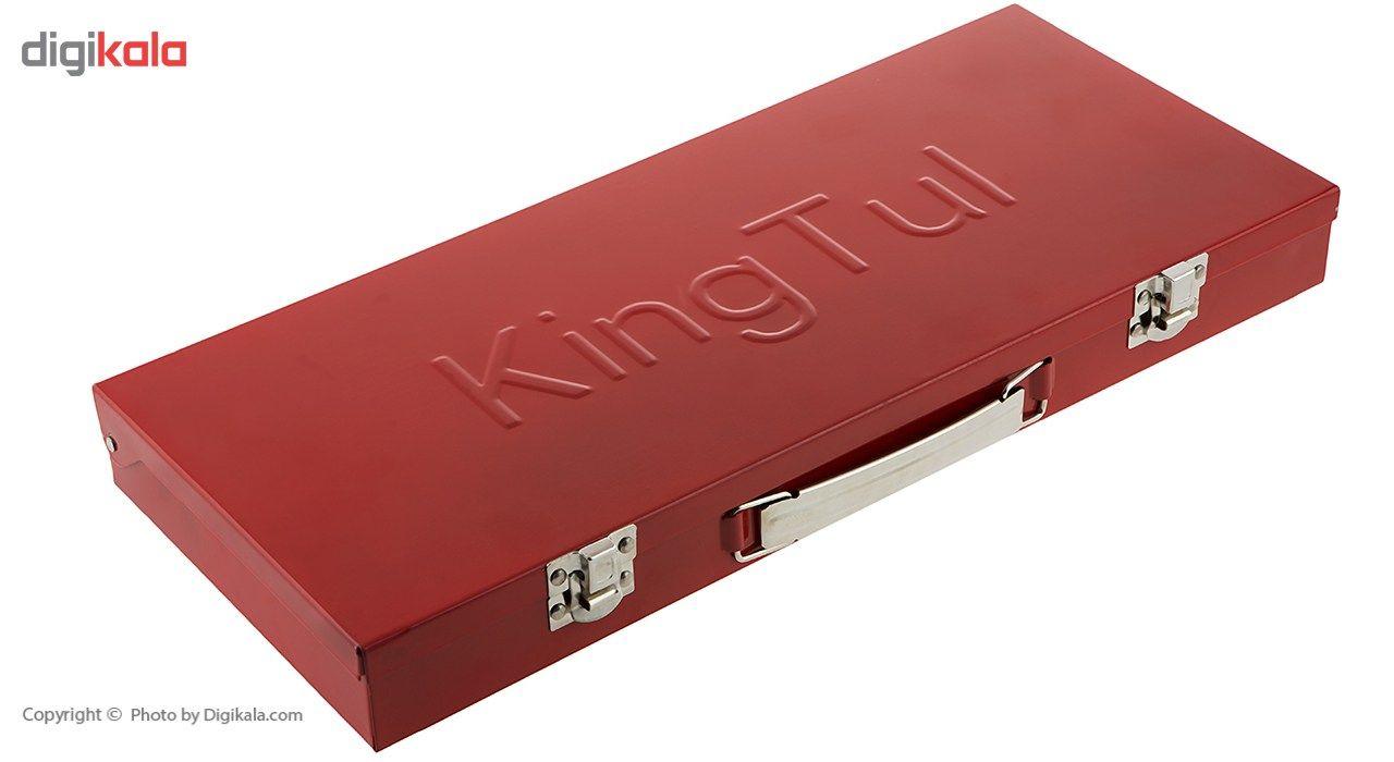مجموعه 24 عددی آچار بکس کینگ تول مدل KT24 شش گوشه main 1 10