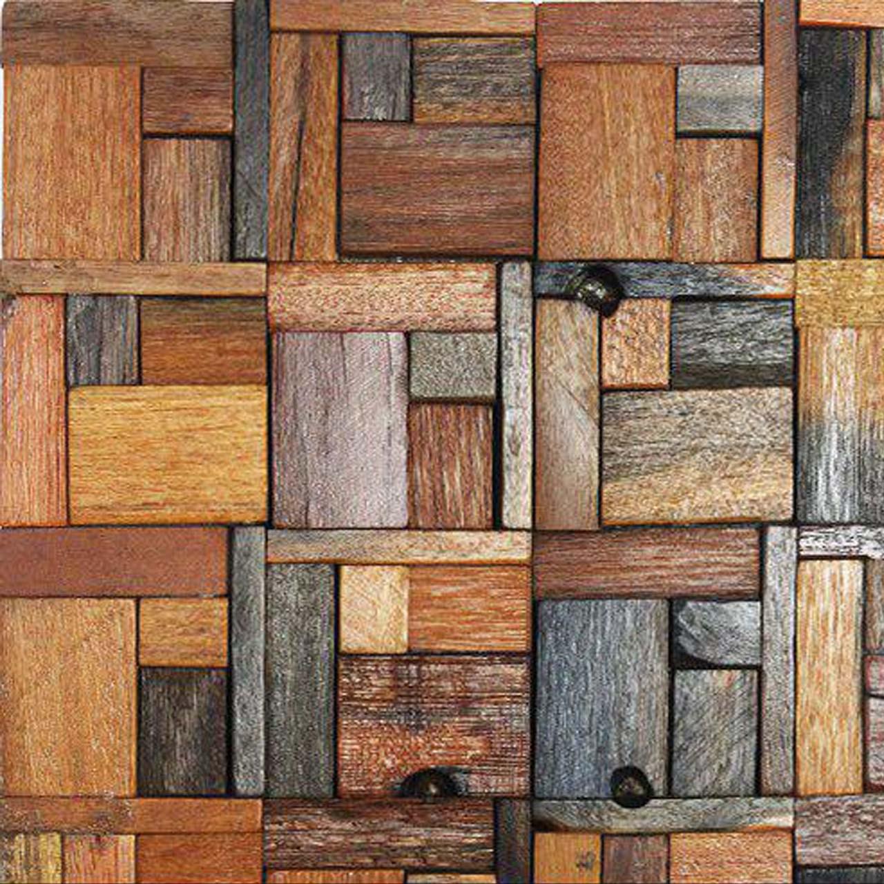 کاشی چوبی ست مدل W.B.3753