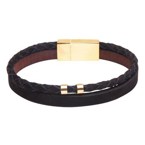 دستبند چرمی  آتیس کد I500NB2