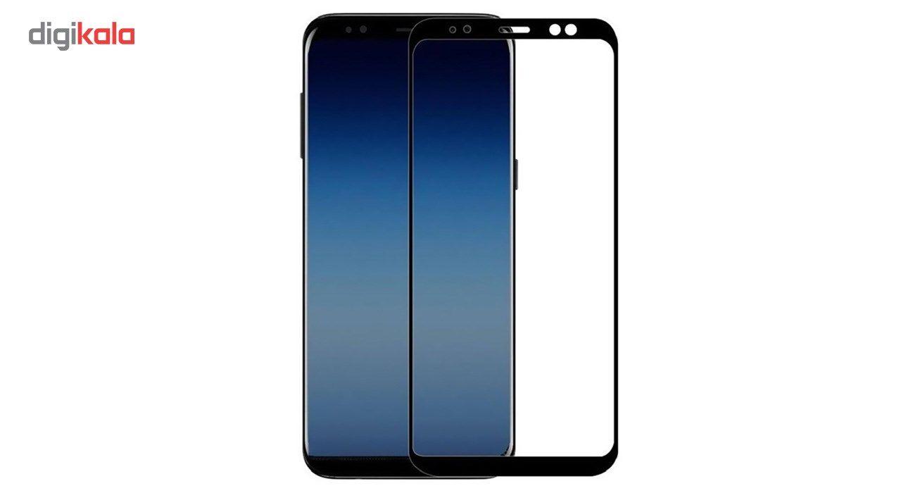 محافظ صفحه نمایش تمپرد مدل Full Cover مناسب برای گوشی موبایل سامسونگ Galaxy A8 Plus 2018 main 1 1