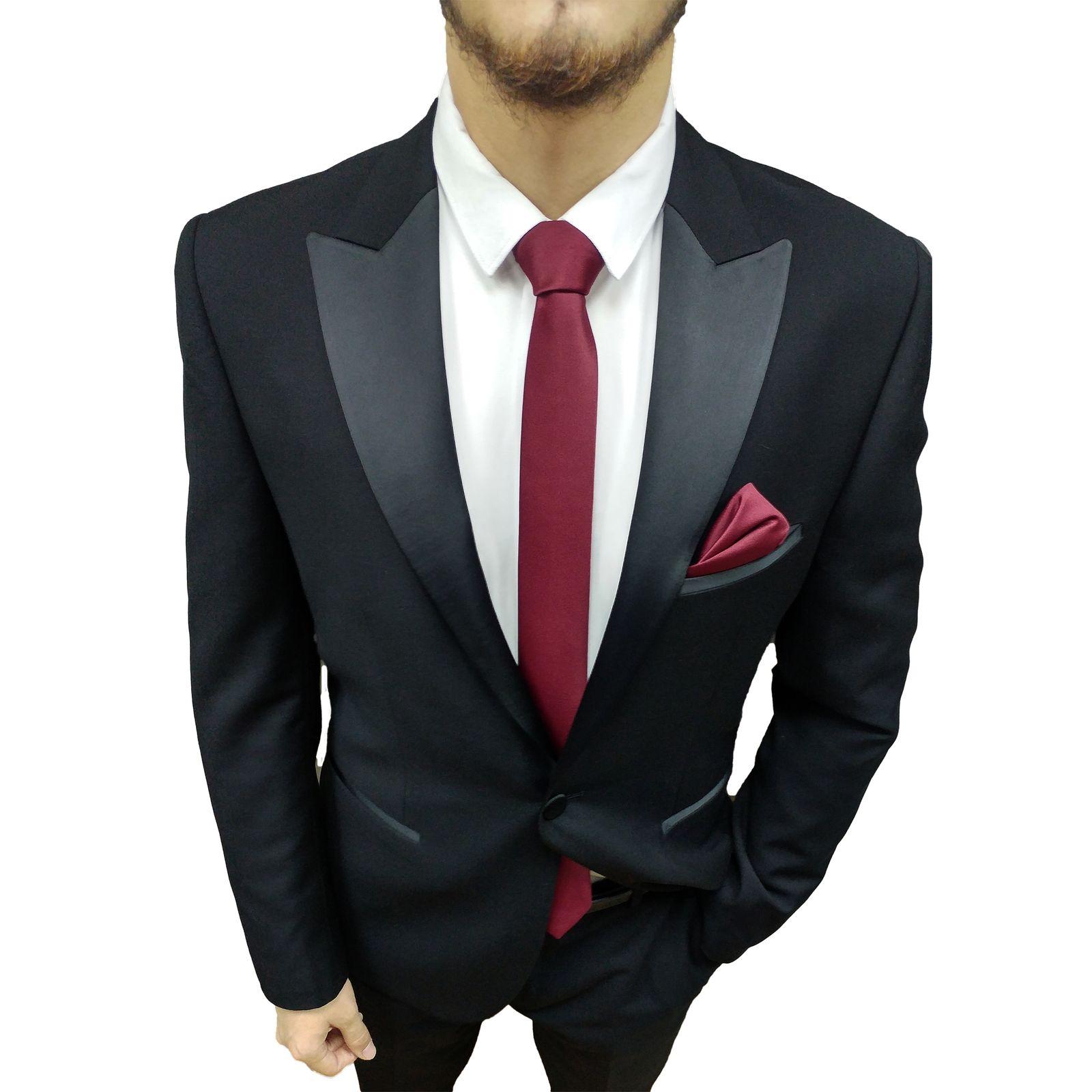 ست کراوات و پاپیون مردانه کد G -  - 3