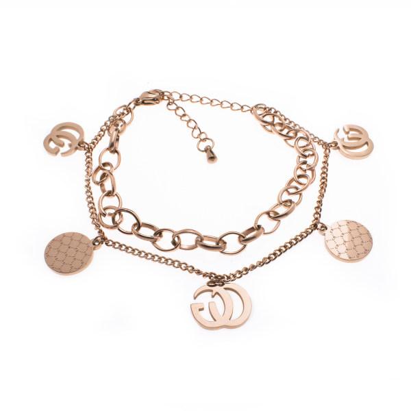 دستبند زنانه استینلس استیل مدل BDZ1014