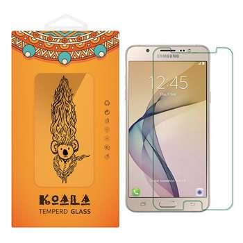 محافظ صفحه نمایش شیشه ای کوالا مدل Tempered مناسب برای گوشی موبایل سامسونگ Galaxy J7 Prime