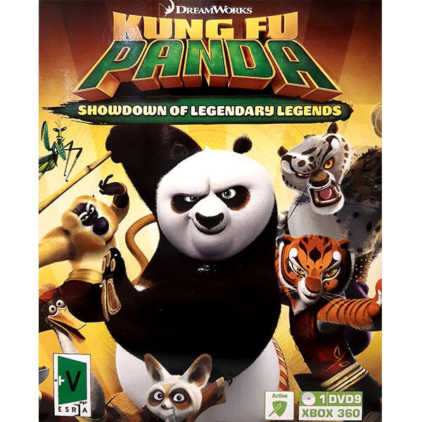 بازی KUNG FU PANDA مخصوص Xbox 360
