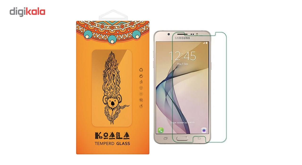 محافظ صفحه نمایش شیشه ای کوالا مدل Tempered مناسب برای گوشی موبایل سامسونگ Galaxy J7 Prime main 1 1