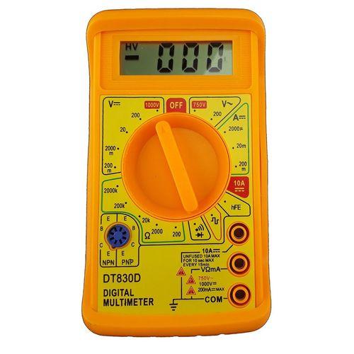 مولتی متر دیجیتال مدل DT830D