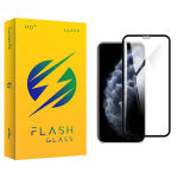 محافظ صفحه نمایش فلش مدل +HD مناسب برای گوشی موبایل اپل iPhone xs