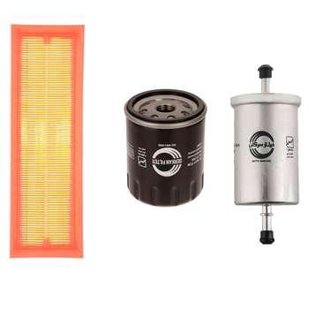 فیلتر روغن خودرو سرکان مدل 7730 به همراه فیلتر هوا و بنزین