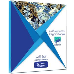 بسته کاغذ اوریگامی اوریمان مدل طرح ژاپنی
