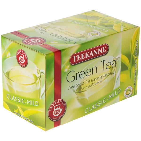 چای کیسه ای تی کانه مدل Green Tea بسته 20 عددی