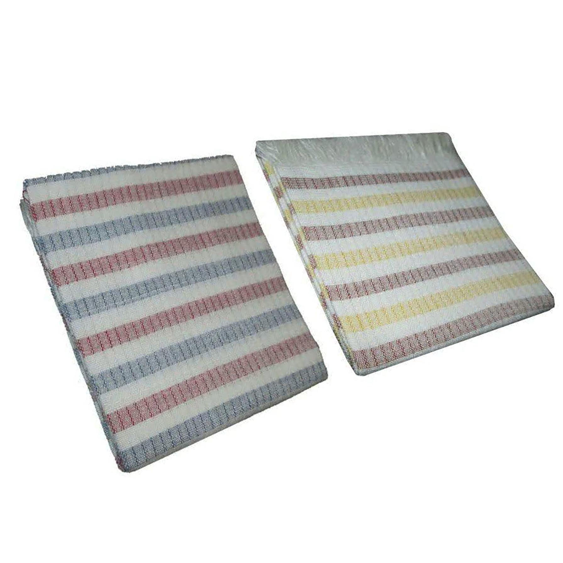 دستمال دستباف مدل ریواس سایز 50 × 60 سانتیمتر بسته دو عددی