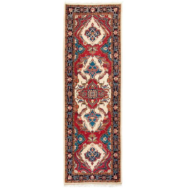 فرش دستبافت کناره طول سه و نیم متری سی پرشیا کد 101877