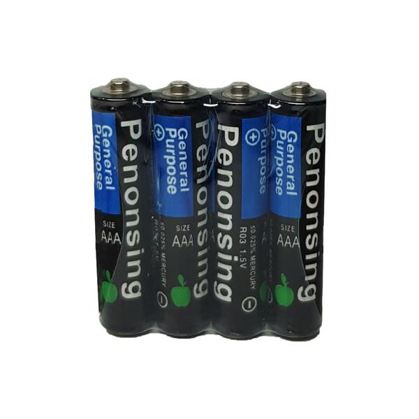 باتری نیم قلمی پنونسینگ کد r03 بسته 4 عددی
