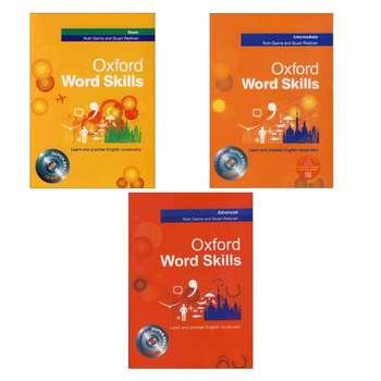 کتاب oxford word skills اثر Stuart Redman انتشارات اکسفورد 3جلدی
