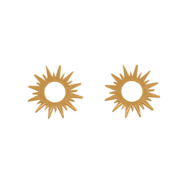 گوشواره طلا 18 عیار دخترانه رزالیا مدل Diamond-GEA-016