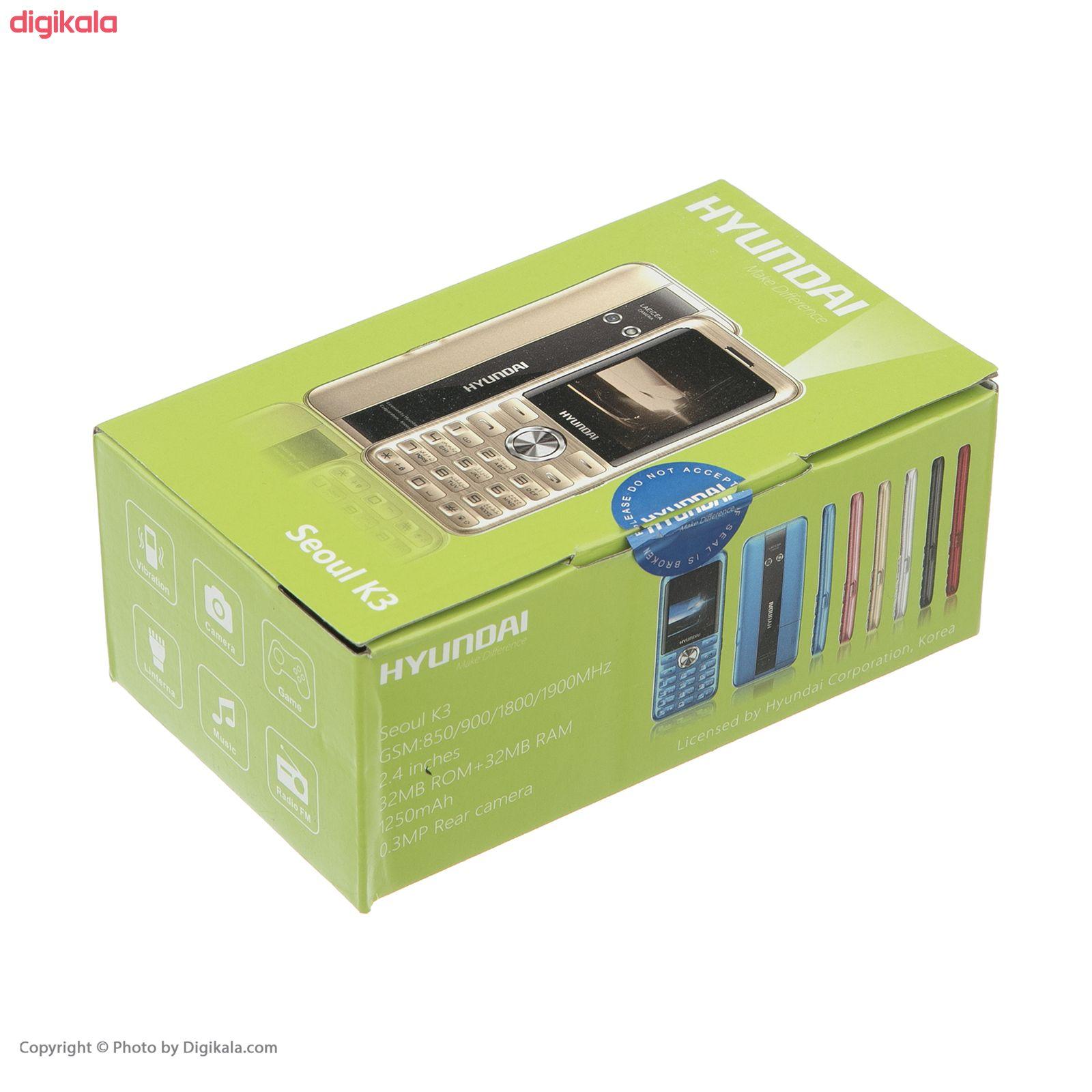 گوشی موبایل هیوندای مدل Seoul K3 دو سیم کارت main 1 14