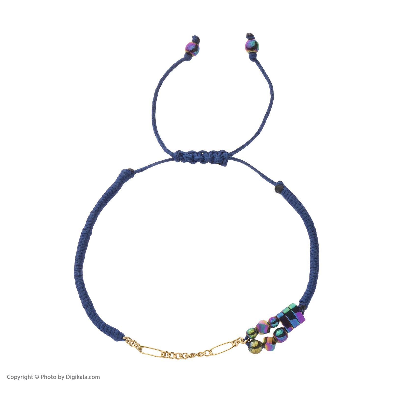 دستبند طلا زنانه سنجاق مدل x094287 -  - 3