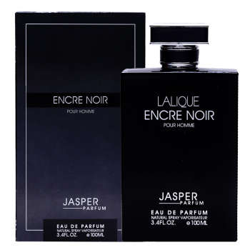 ادو پرفیوم مردانه جاسپر پرفیوم مدل LALIQUE encre noire حجم 100 میلی لیتر