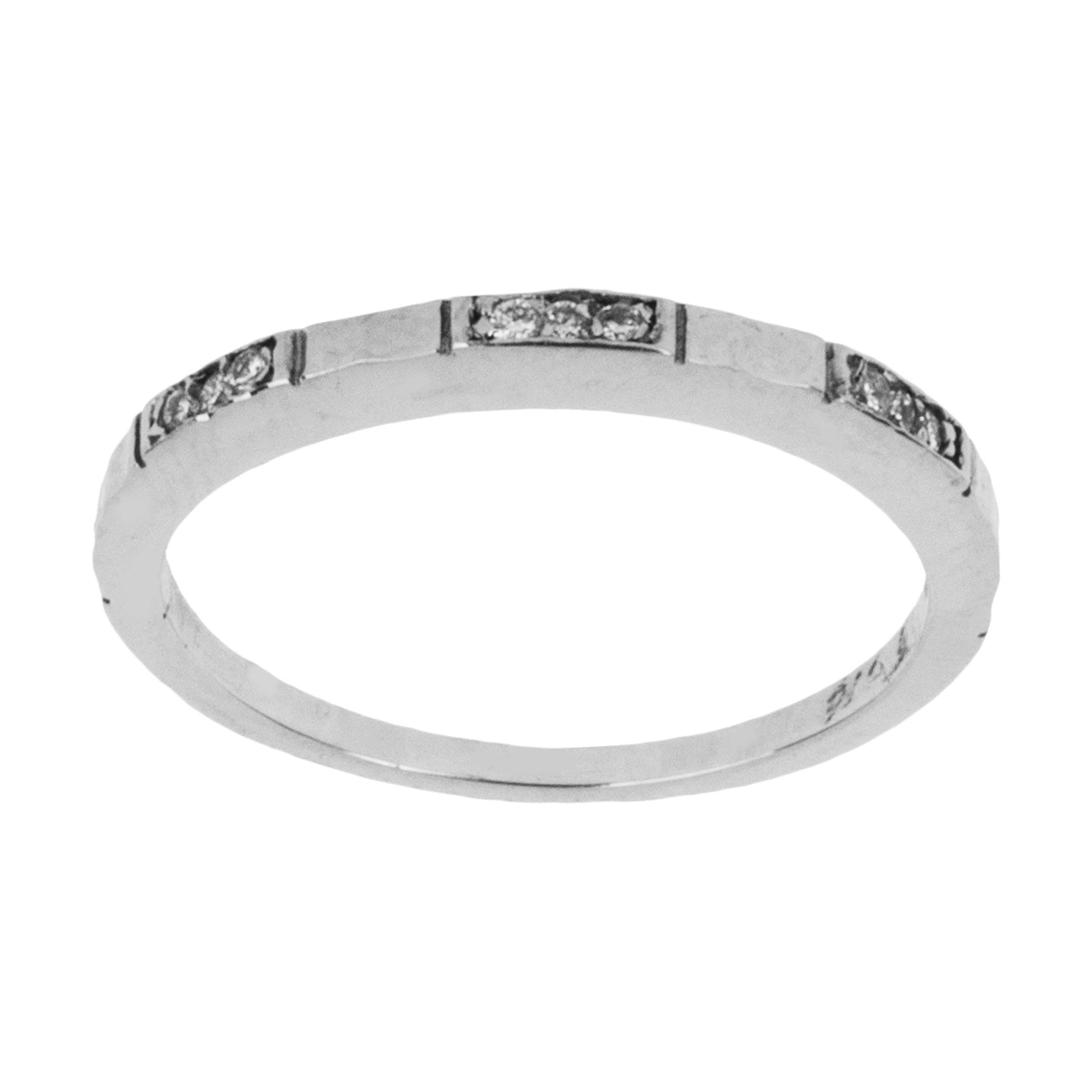 انگشتر طلا 18 عیار زنانه آلند کد  J2205