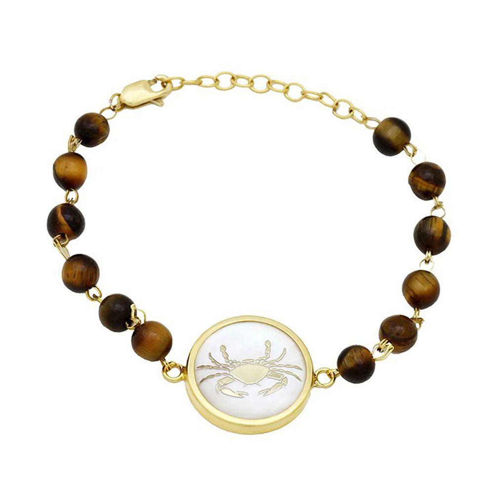 دستبند طلا 18 عیار ماهک مدل MB0116 - مایا ماهک