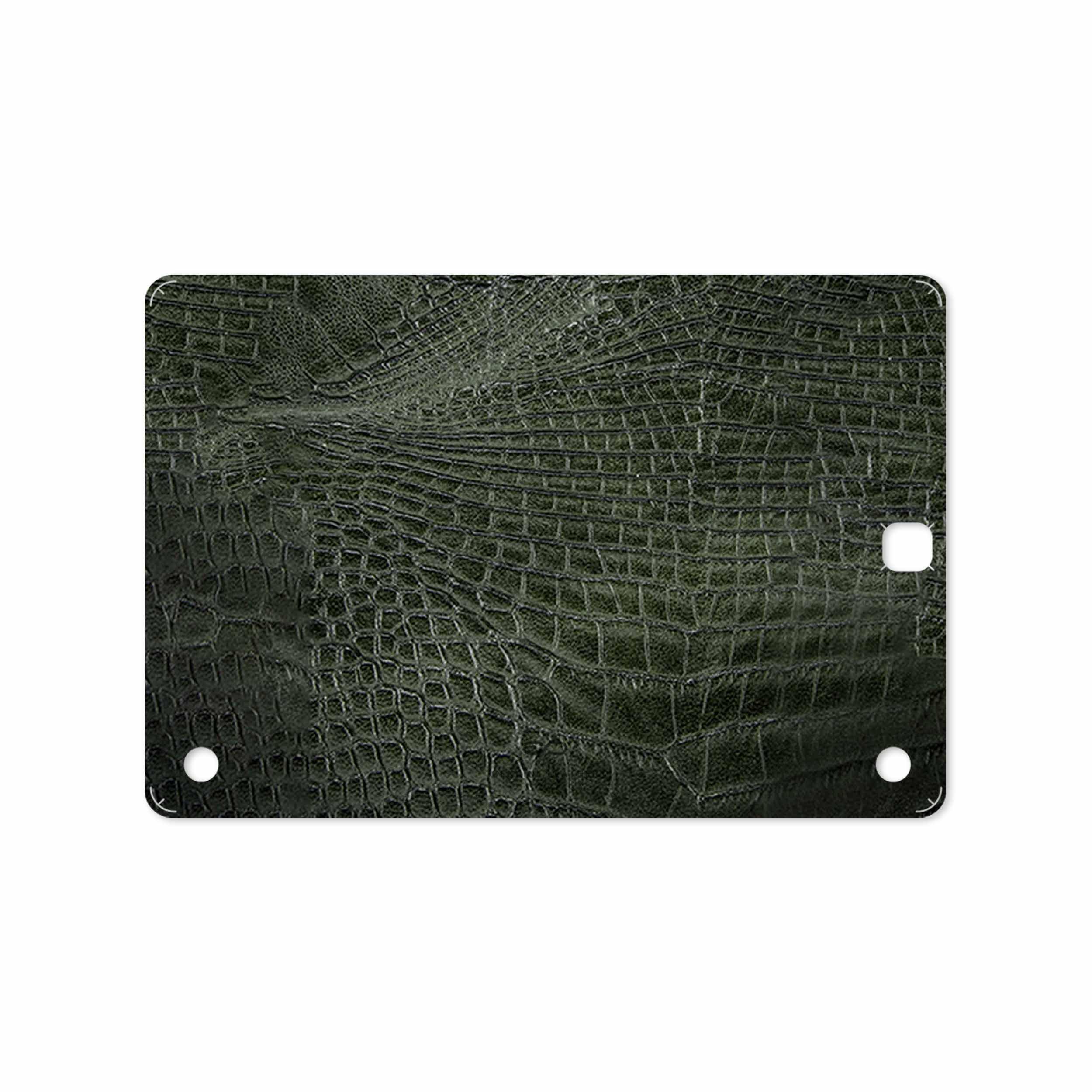 بررسی و خرید [با تخفیف]                                     برچسب پوششی ماهوت مدل Green-Crocodile-Leather مناسب برای تبلت سامسونگ Galaxy Tab A 9.7 2015 T555                             اورجینال