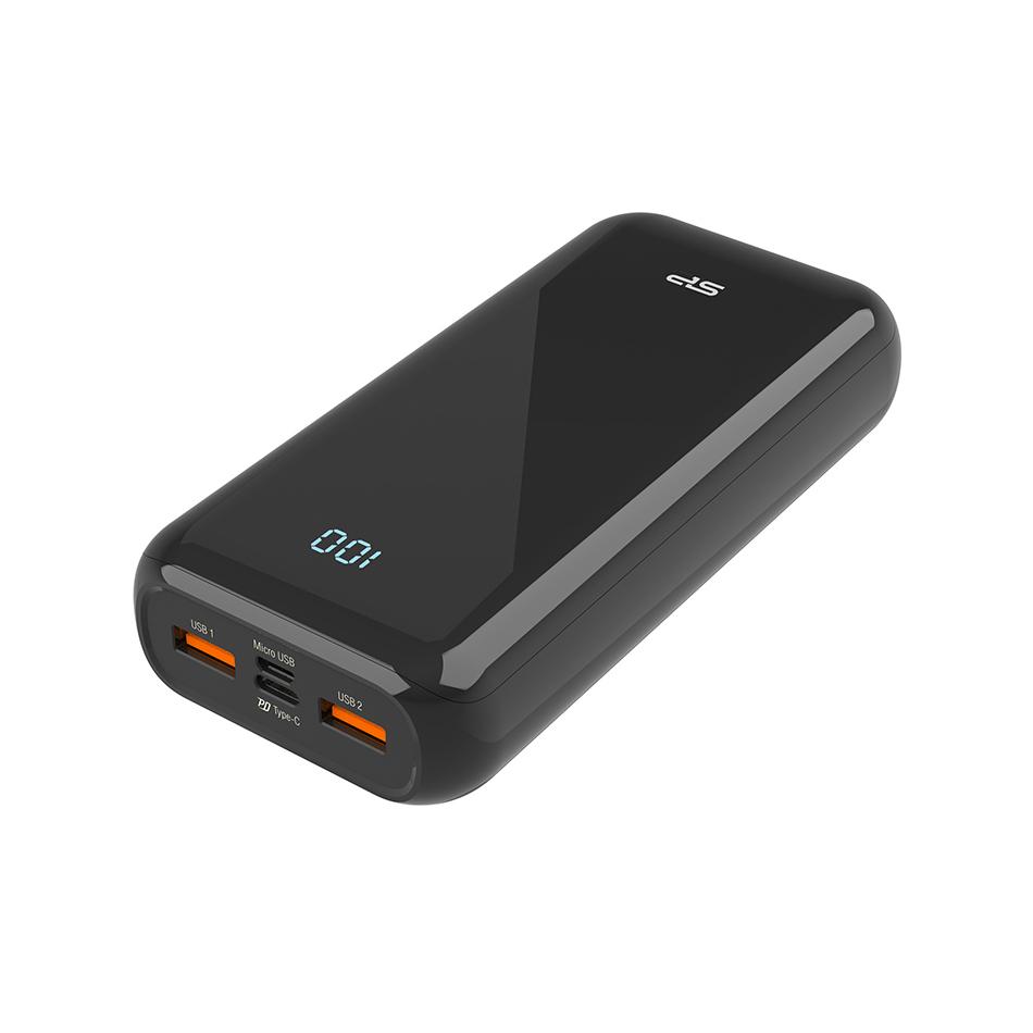 شارژر همراه سیلیکون پاور مدل QS28 ظرفیت 20000 میلی آمپر ساعت