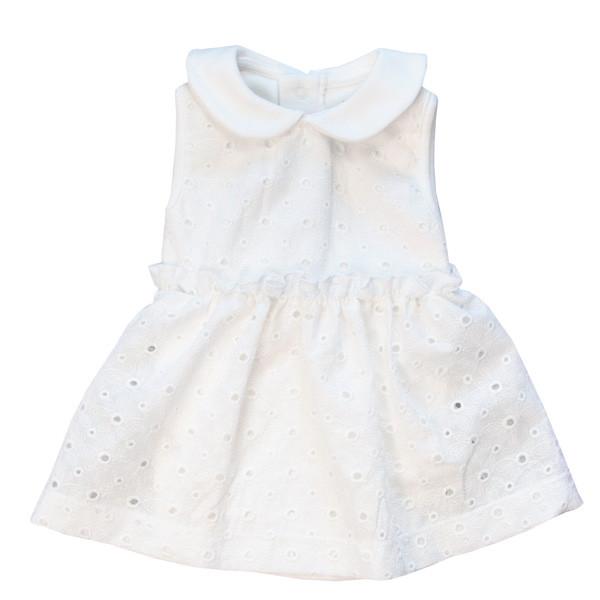 پیراهن نوزادی دخترانه پولونیکس مدل رز کد 20