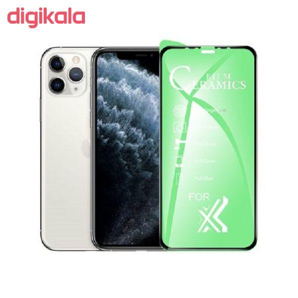 محافظ صفحه نمایش سرامیکی مدل YGL-S مناسب برای گوشی موبایل اپل IPHONE XR/11 main 1 3