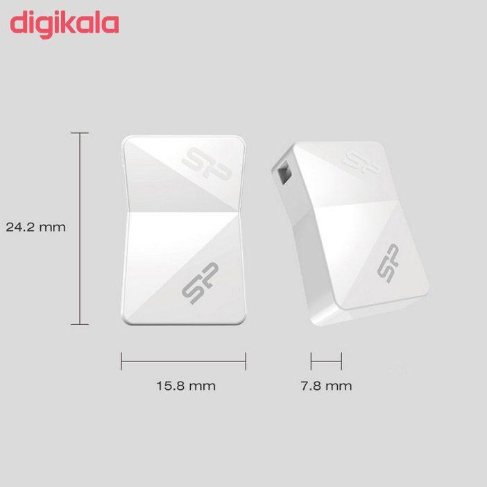 فلش مموری سیلیکون پاور مدل Touch T08 ظرفیت 32 گیگابایت main 1 4