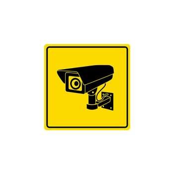 استیکر لپ تاپ لولو طرح دوربین مدار بسته کد 156