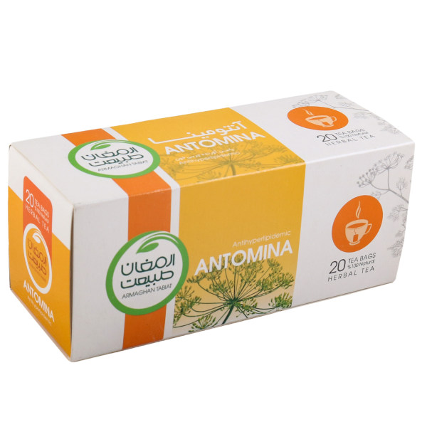 دمنوش کیسه ای گیاهی آنتومینا ارمغان طبیعت بسته 20 عددی