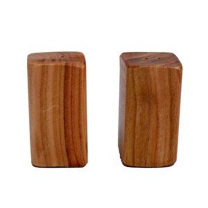 نمکدان چوبی مدل MOK مجموعه 2 عددی