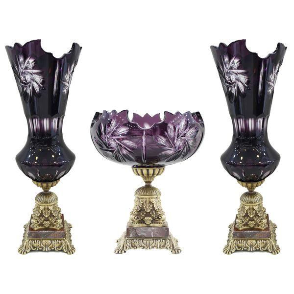 آجیل خوری کد 9001 به همراه گلدان