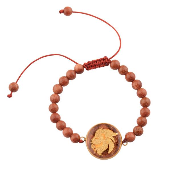 دستبند زنانه الون طرح ماه مرداد کد DEL102
