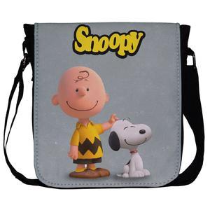 کیف دوشی طرح Snoopy کد 1056