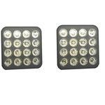 لامپ سقف خودرو مدل sdw12 مجموعه 2 عددی مناسب برای پراید