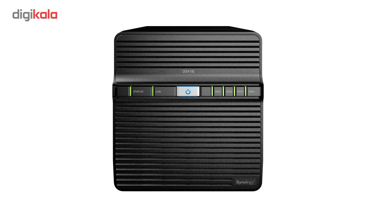 ذخیره ساز تحت شبکه 4Bay سینولوژی مدل دیسک استیشن DS418j